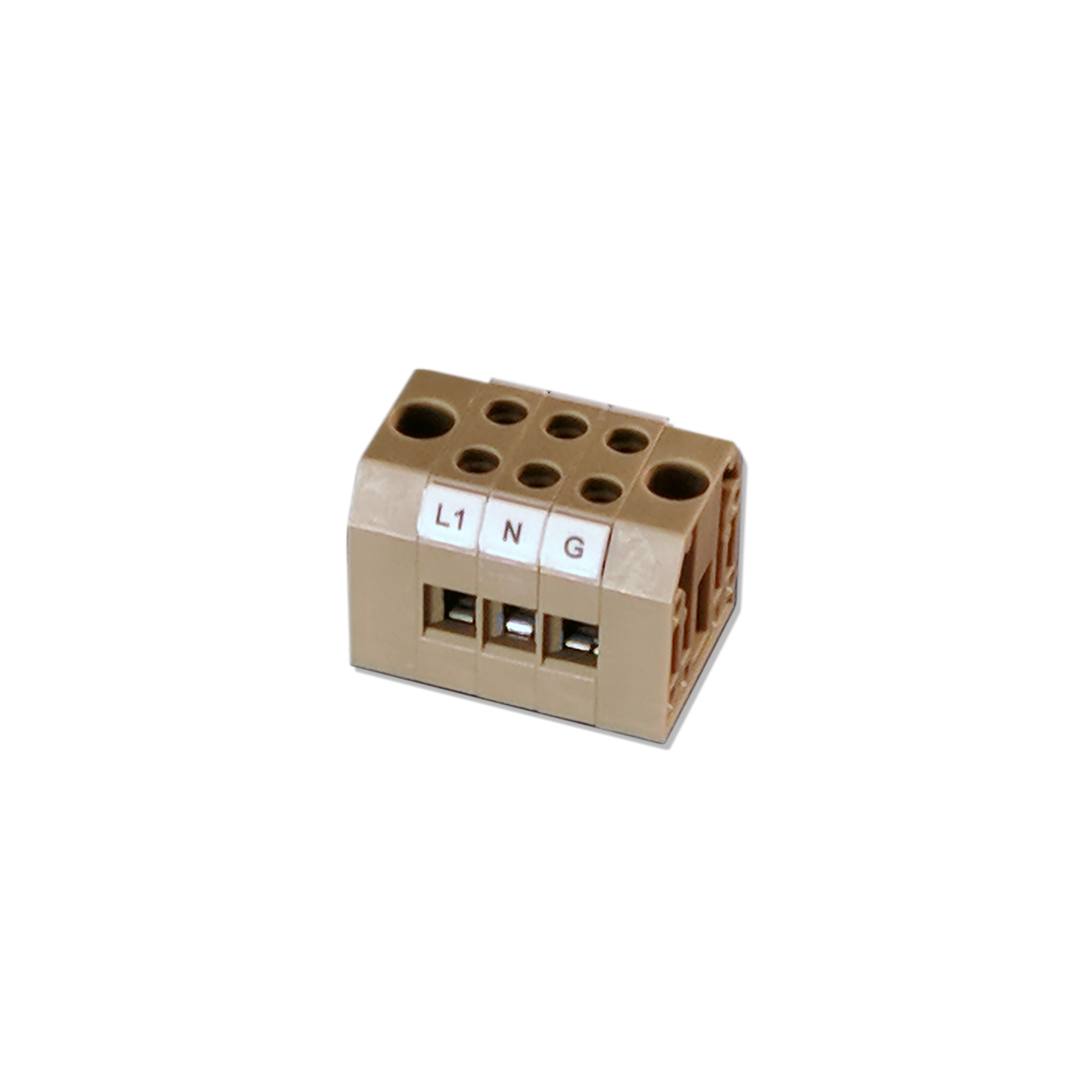 3 Position Terminal Block 22-8 AWG
