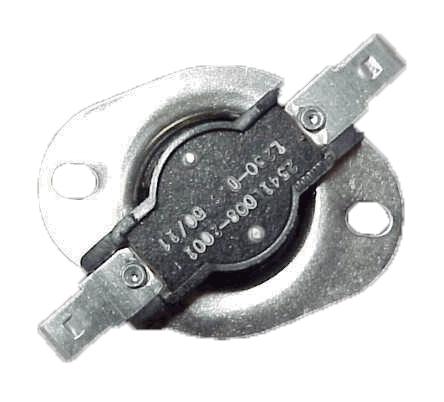 Black High Limit VAC 230 Degree F Thermostat