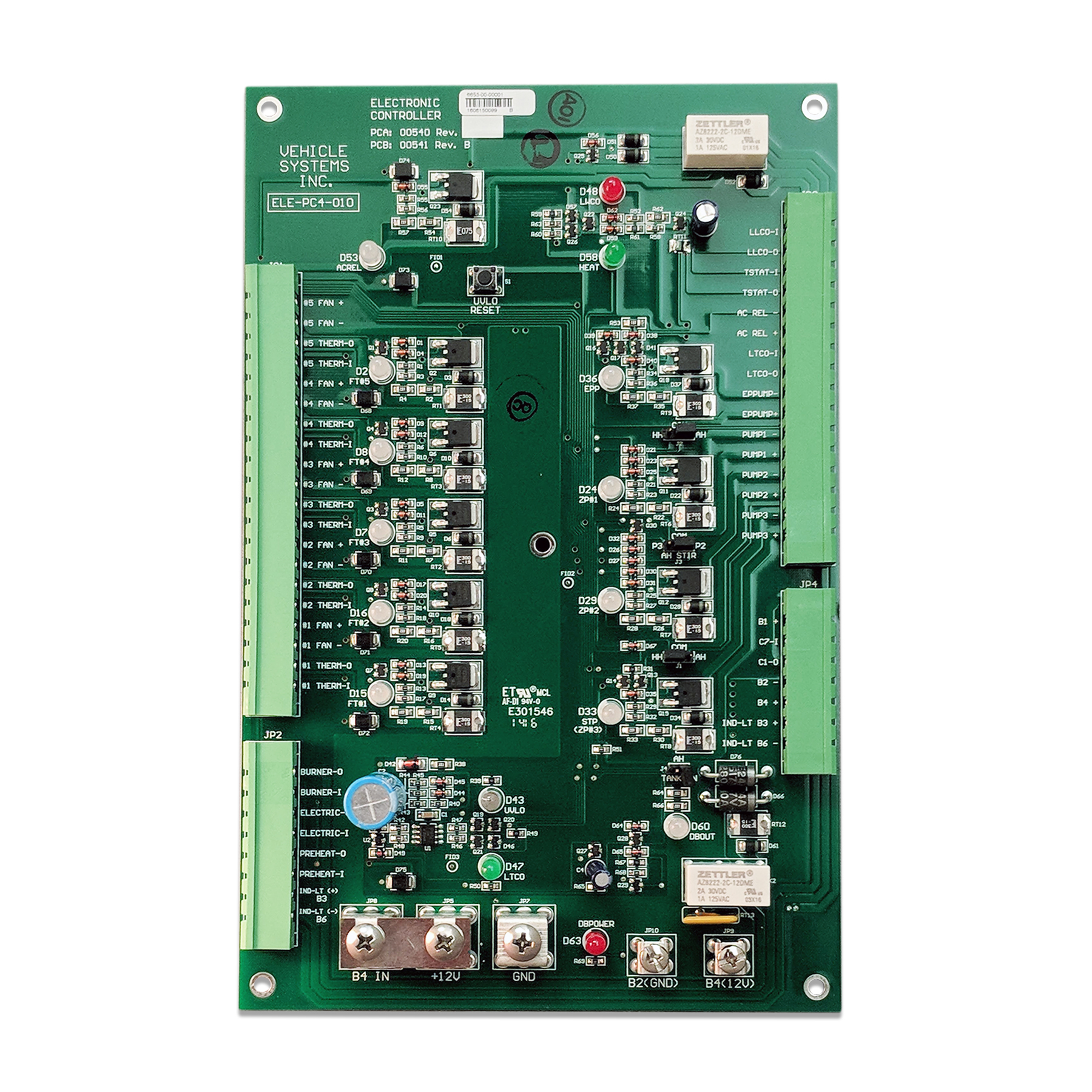 Electronic Control Board 12 VDC