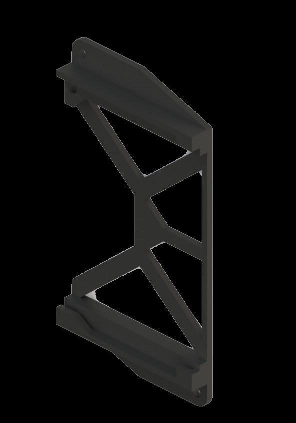 Relay Control Board Cradle