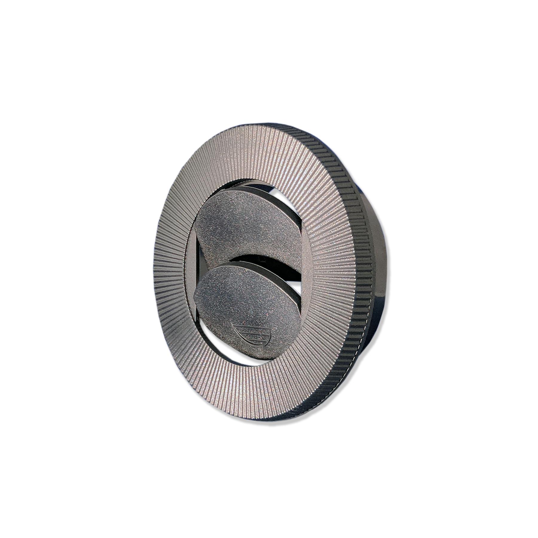 Nozzle, Round 4 w/ 2-1/2 Connector  Black