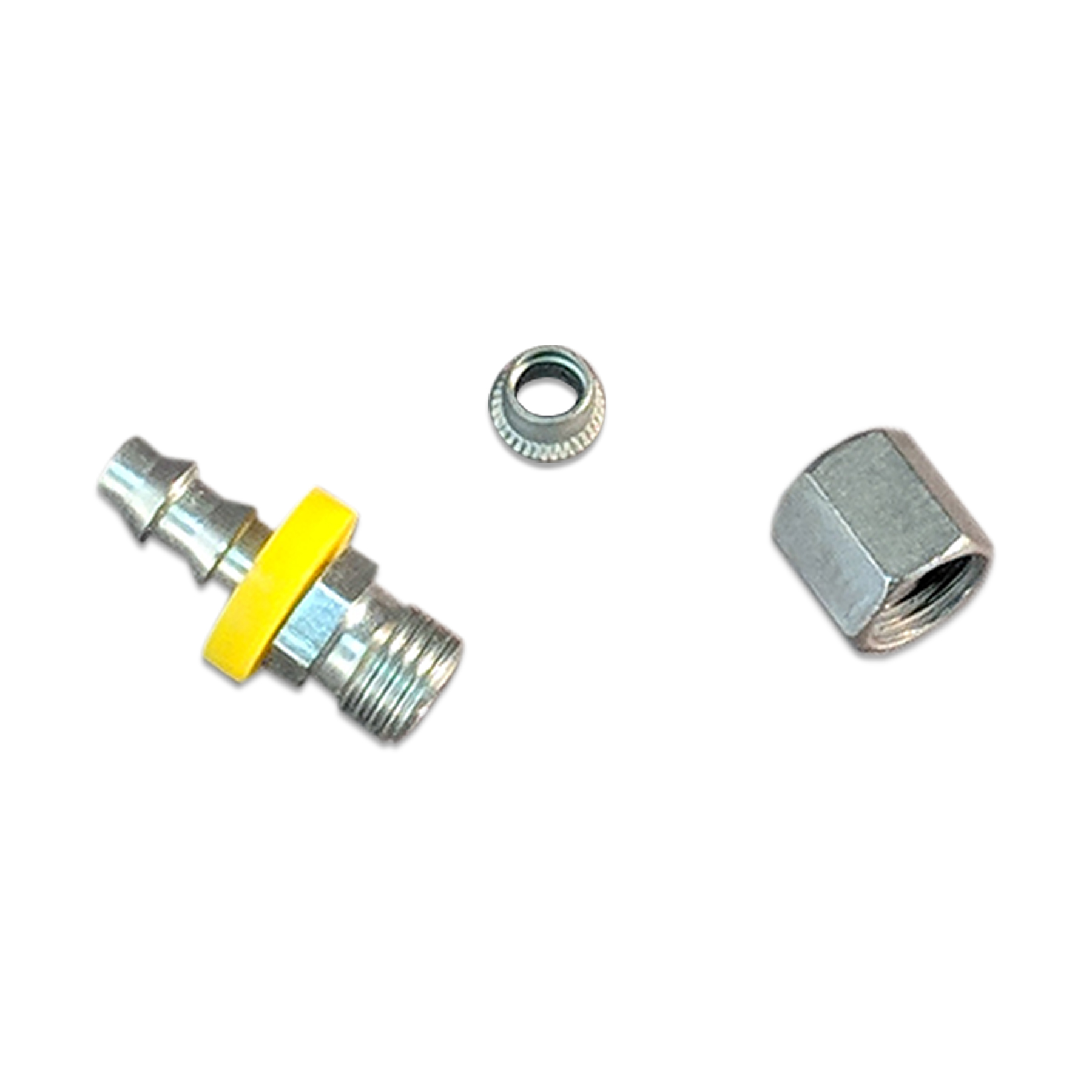 Complete Fuel Kit, JIC (M) w/Nut & Ring