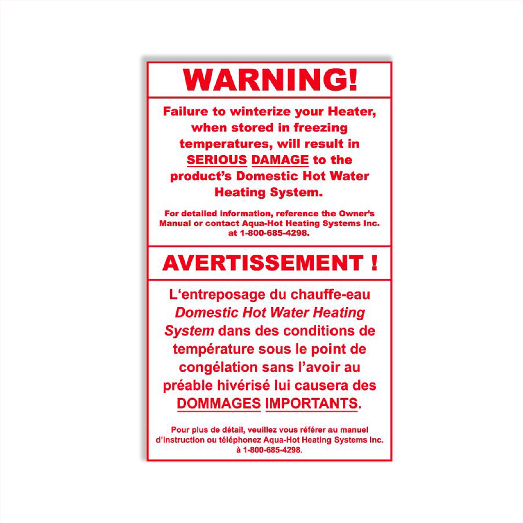 CONS WR Propylene Glycol Label