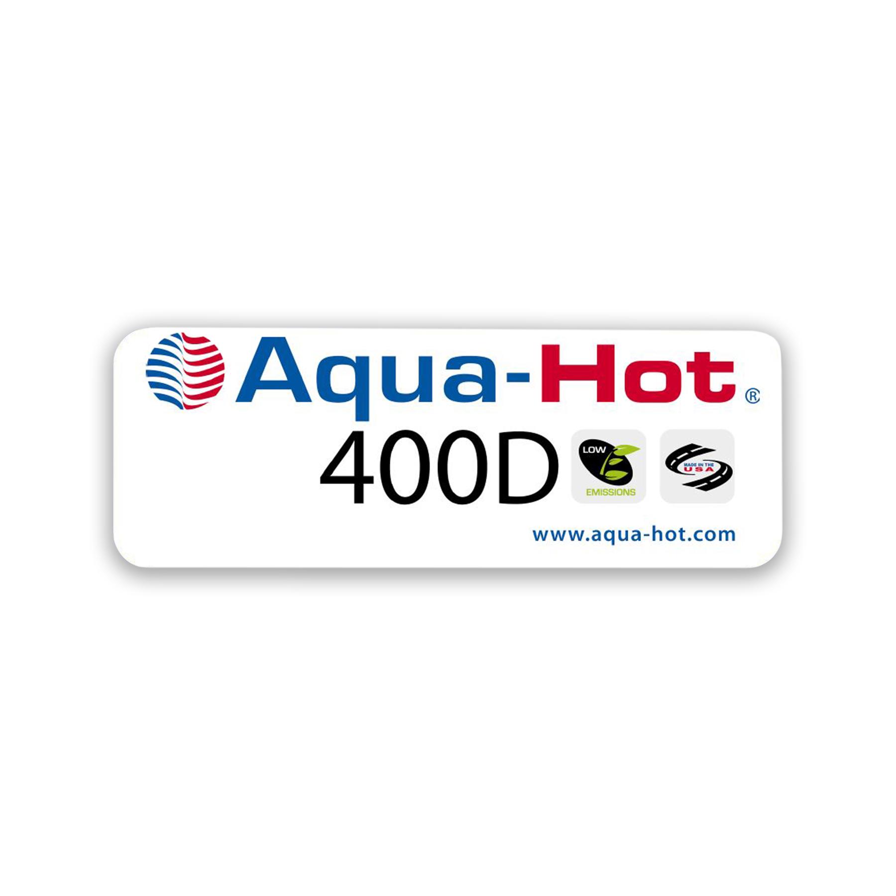 400D Logo Label
