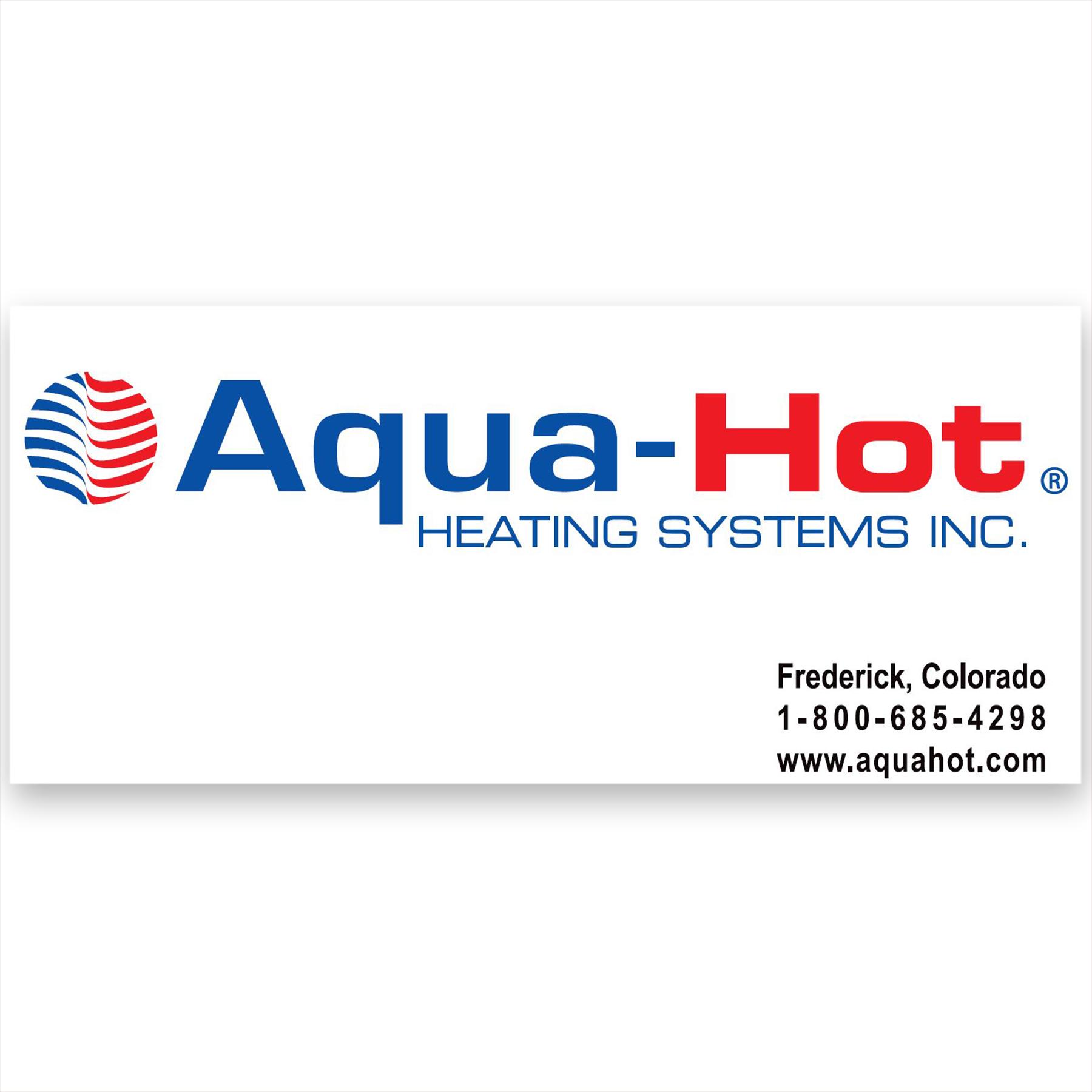 Aqua-Hot Decal (431)