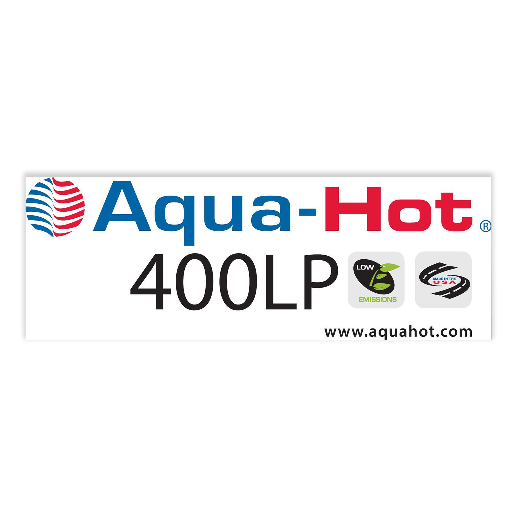 400P Logo Label