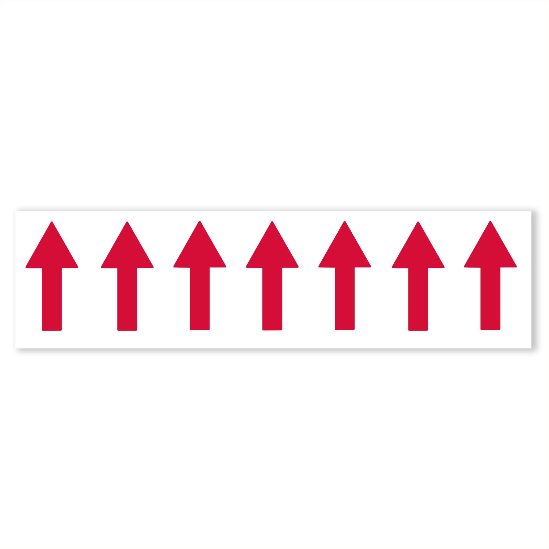 CONS Red Arrow Label, Aqua-Hot / Hydro-Hot