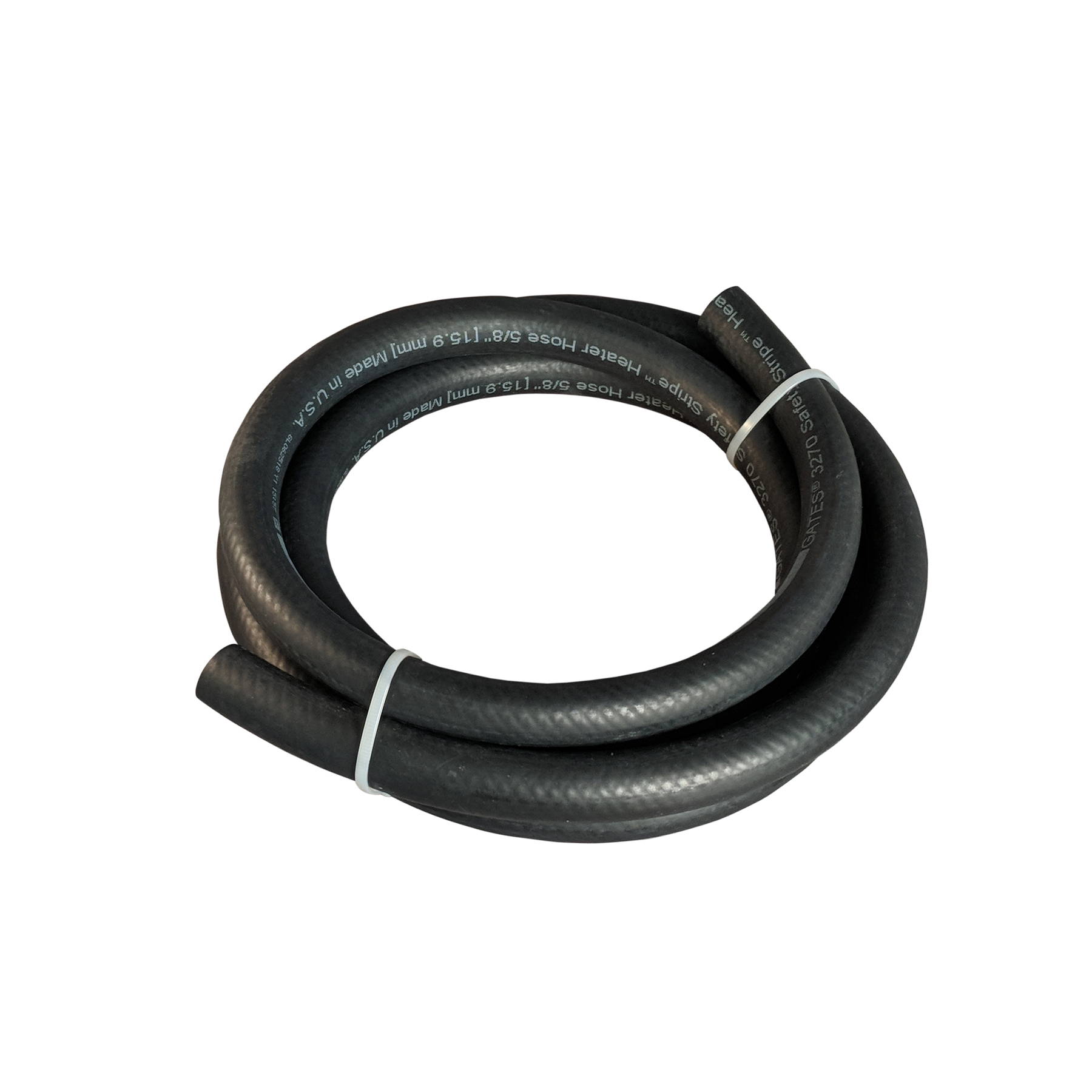 CONS 8 Ft. Section of 5/8 in. Safety Stripe Rubber Hose