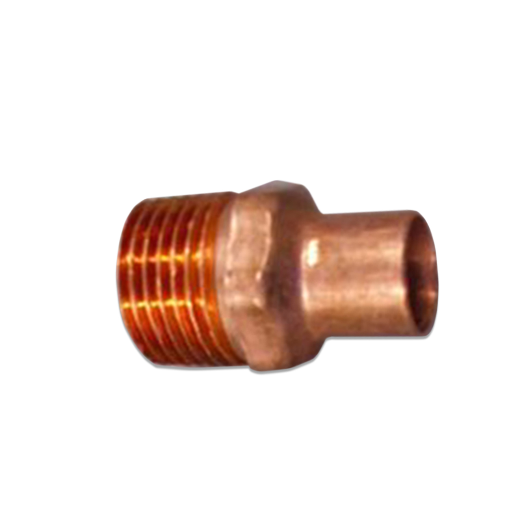 Copper Sweat Fitting 1/2 in. (M) NPT x 1/2 in. ID
