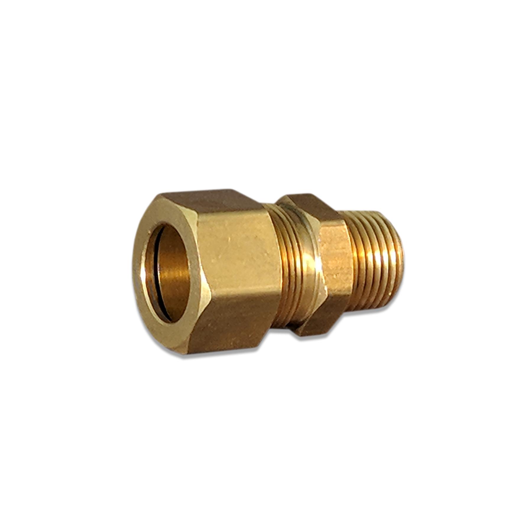 Brass Compression Fitting Kit 5/8 PEX x 1/2 in. (M) NPT