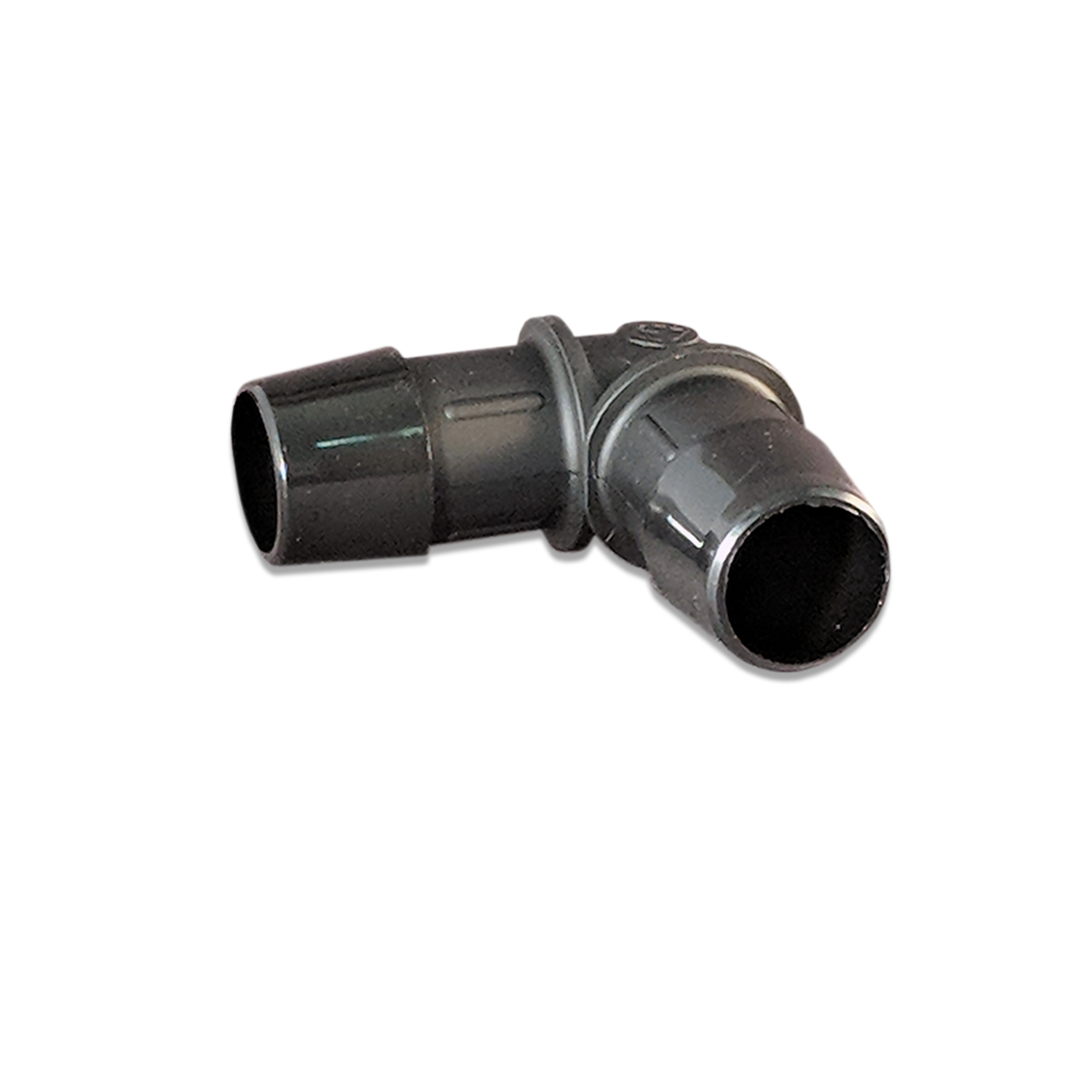 WR Black Nylon Elbow Fitting  3/4 in