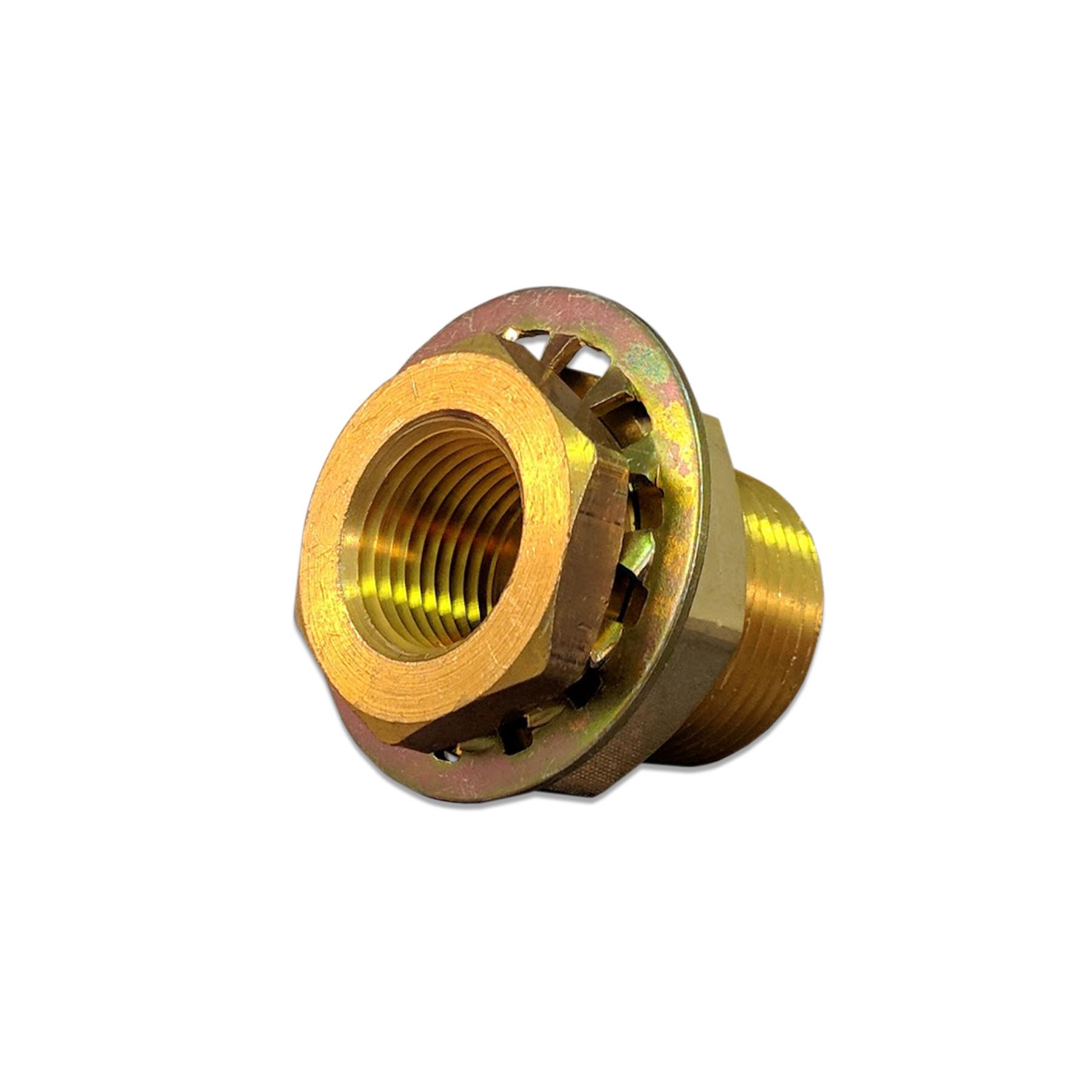 Brass Bulkhead Fitting 1/2 x 1/2 (F) NPT