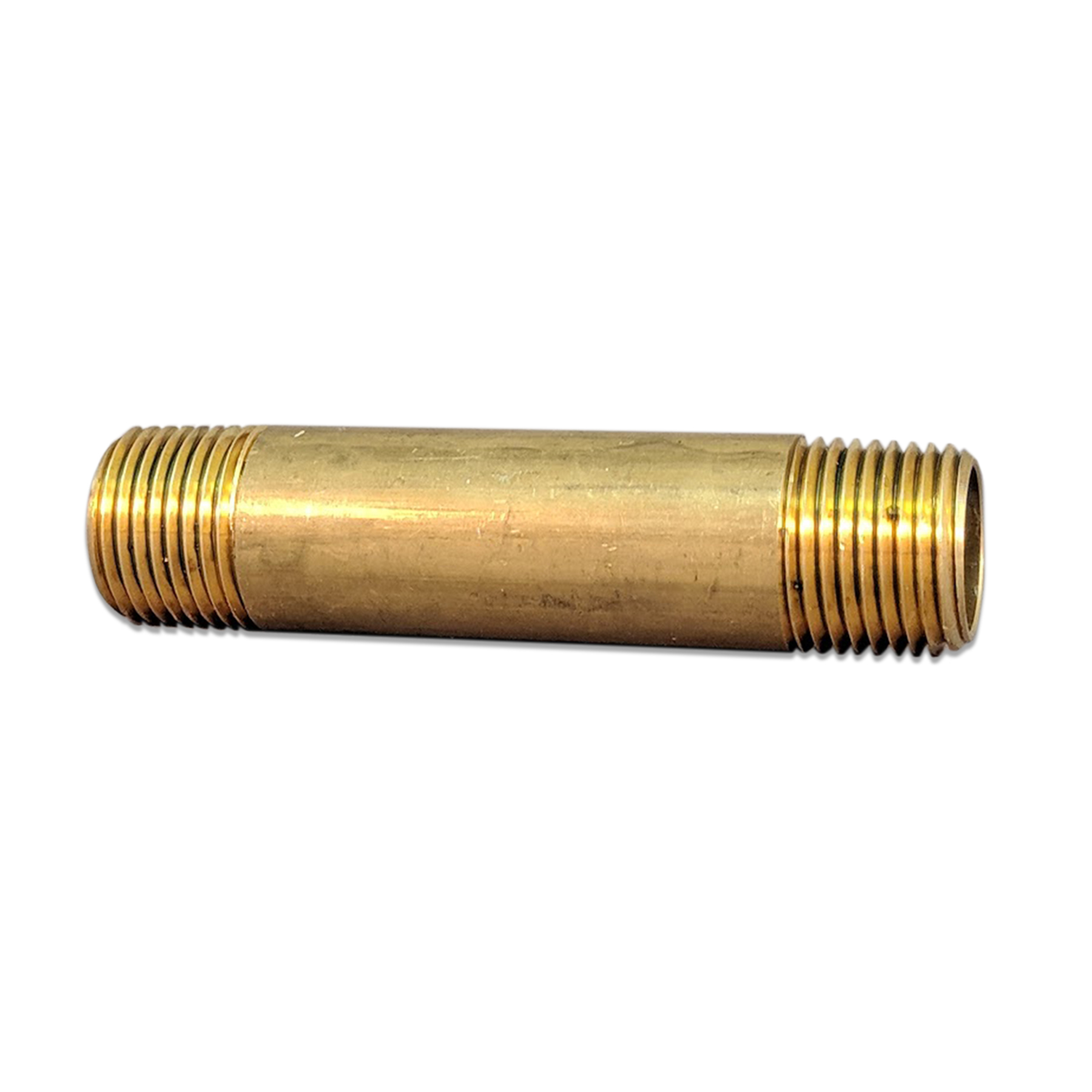 Brass Nipple Fitting, 1/2 in. (M) NPT x 3-1/2 in.