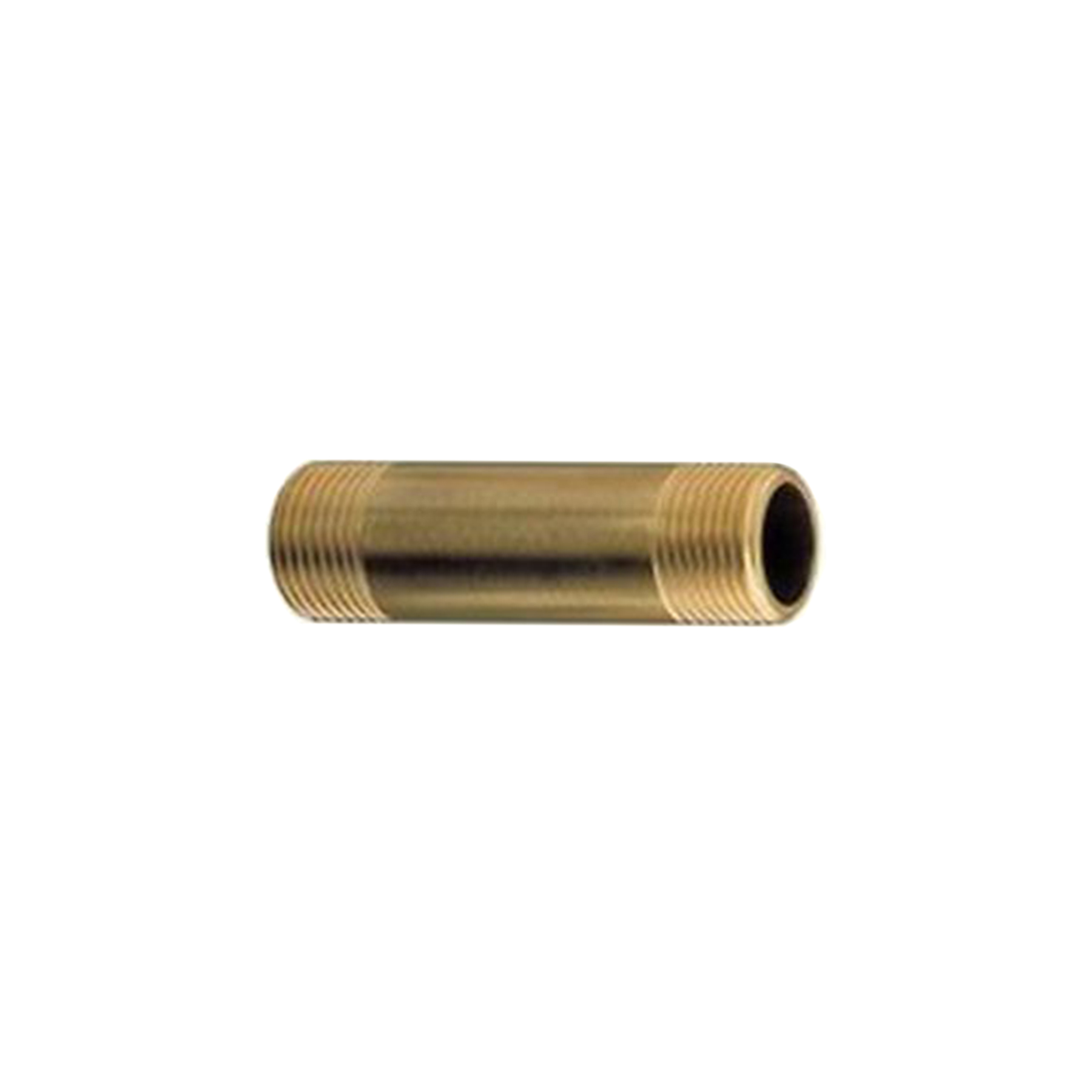 Brass Nipple Fitting, 1/2 in. NPT x 2-1/2 in.