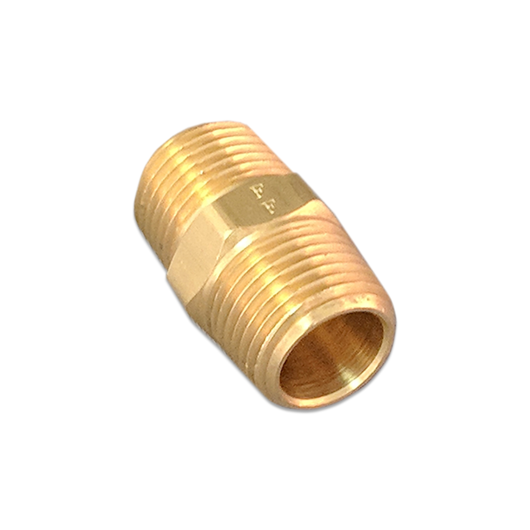 Brass Nipple Fitting, 1/2 in. (M) NPT x 1-1/2 in.