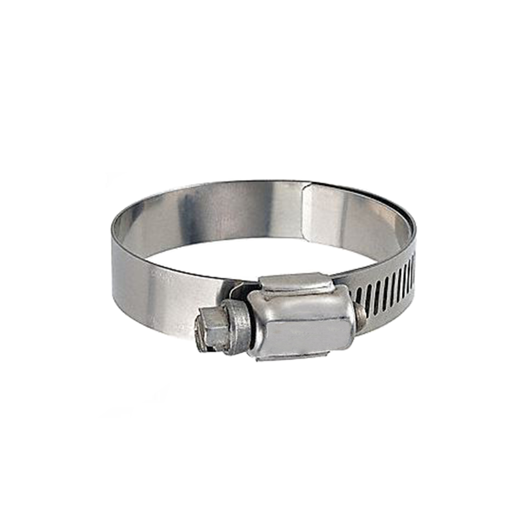 Lined Worm Gear Clamp, 7/8 to 1-14 Lined
