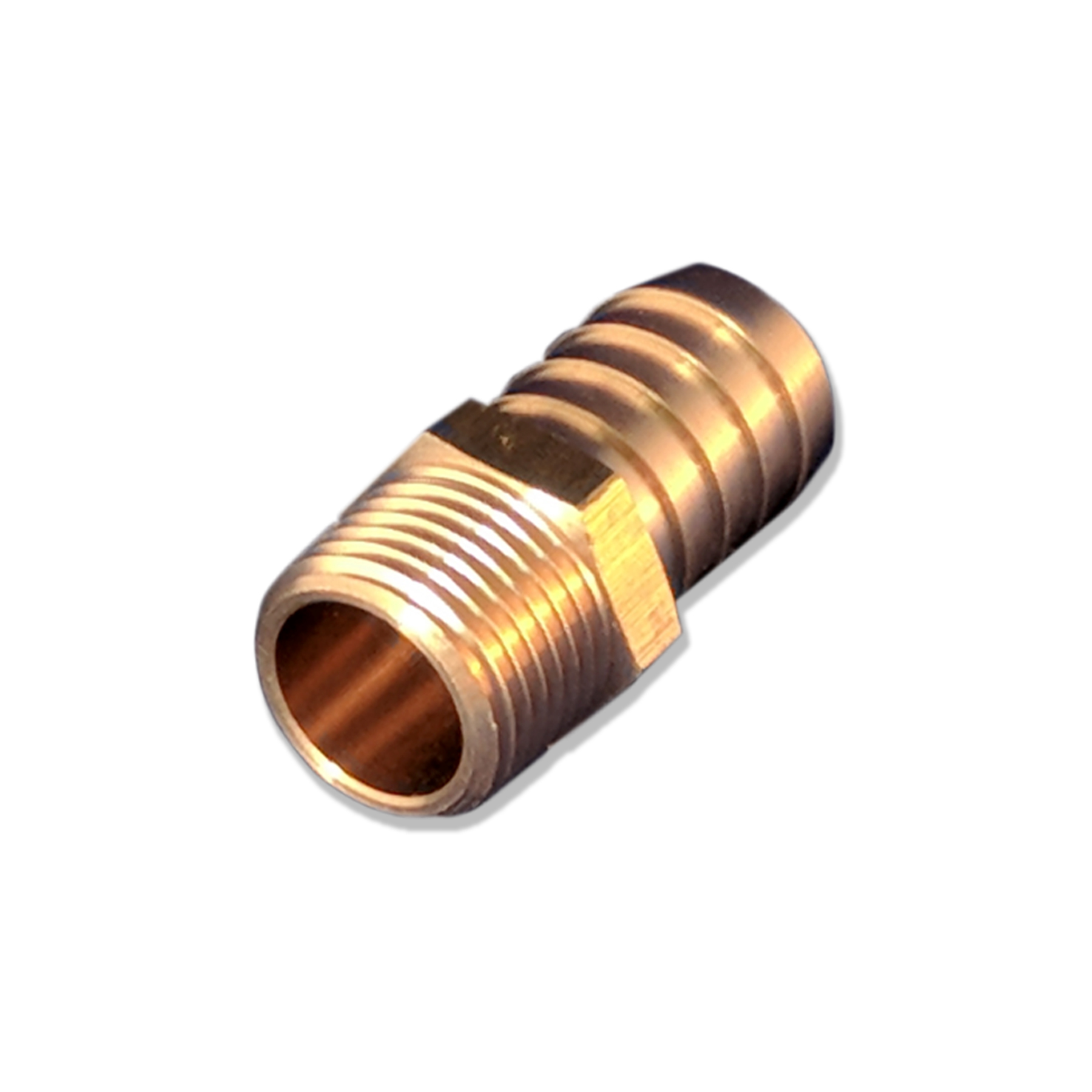 Hose Barb Fitting, 1/2 in. BSP x 19 mm