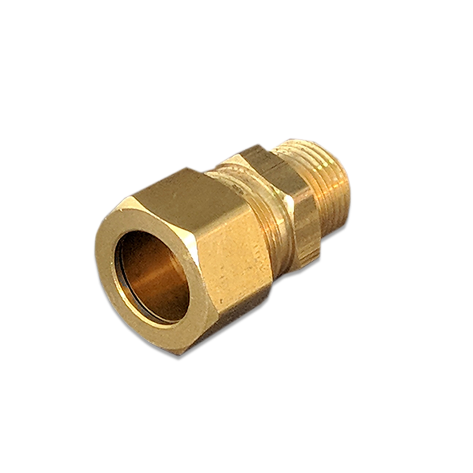 Brass Compression Fitting, 5/8 in. PEX x 1/2 in. (M) NPT
