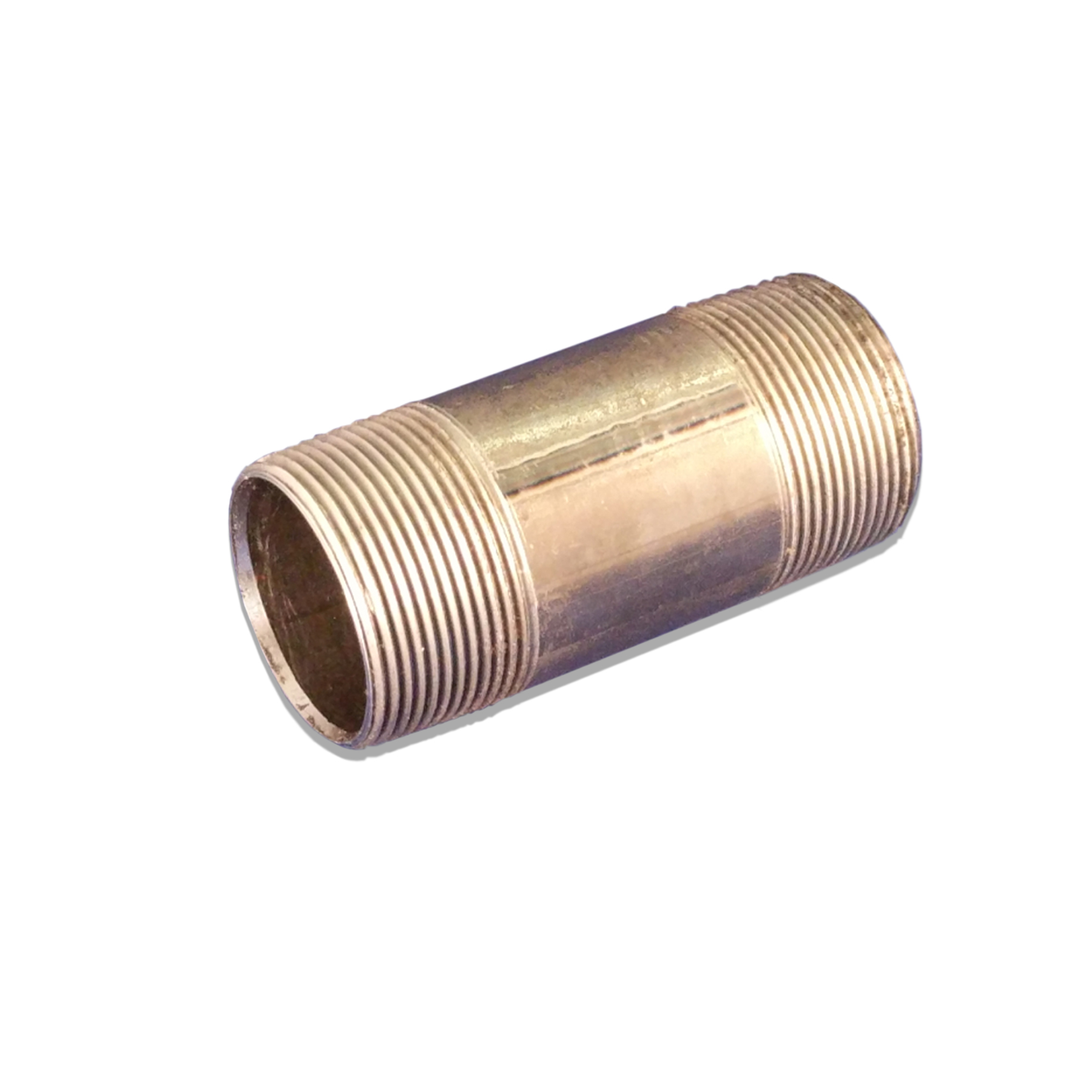 Pipe Nipple Exhaust Fitting, 1-1/2 in. (M) NPT x 4 in.