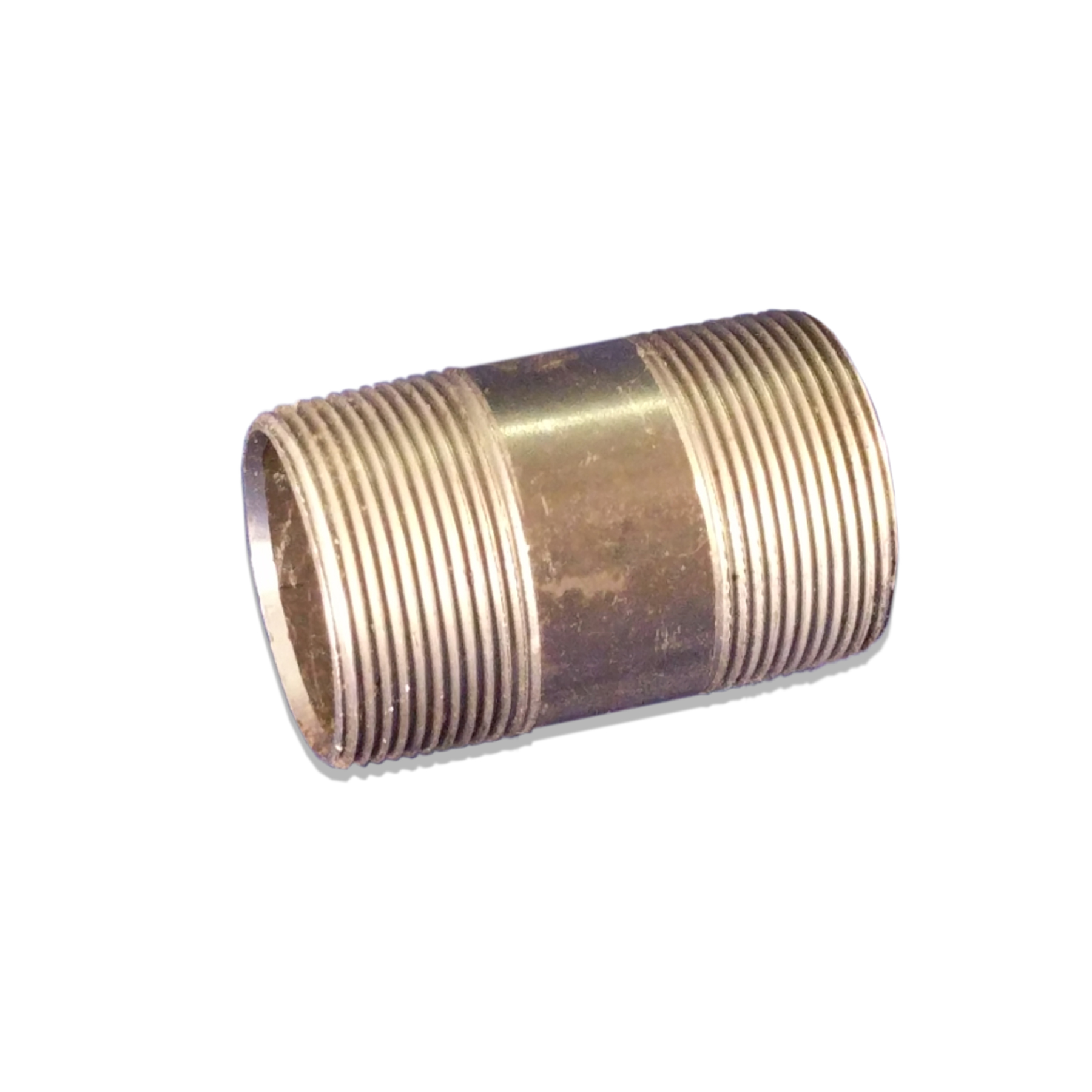 Pipe Nipple Exhaust Fitting, 1-1/2 in. (M) NPT x 3 in.