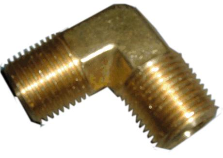 Lead Free Brass Elbow, 1/2 in. (M) NPT