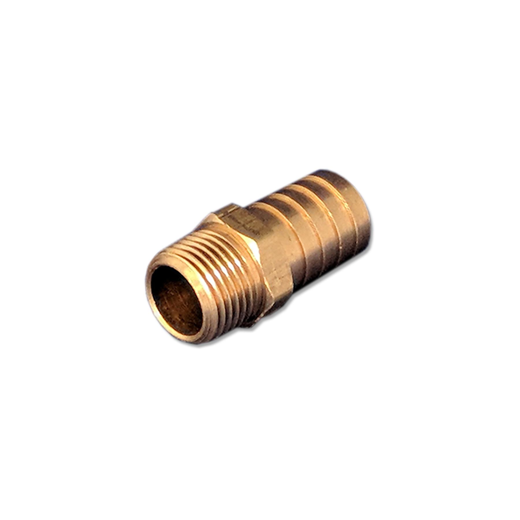 Brass, Barb Fitting  3/4 X 1/2,  (Male) NPT