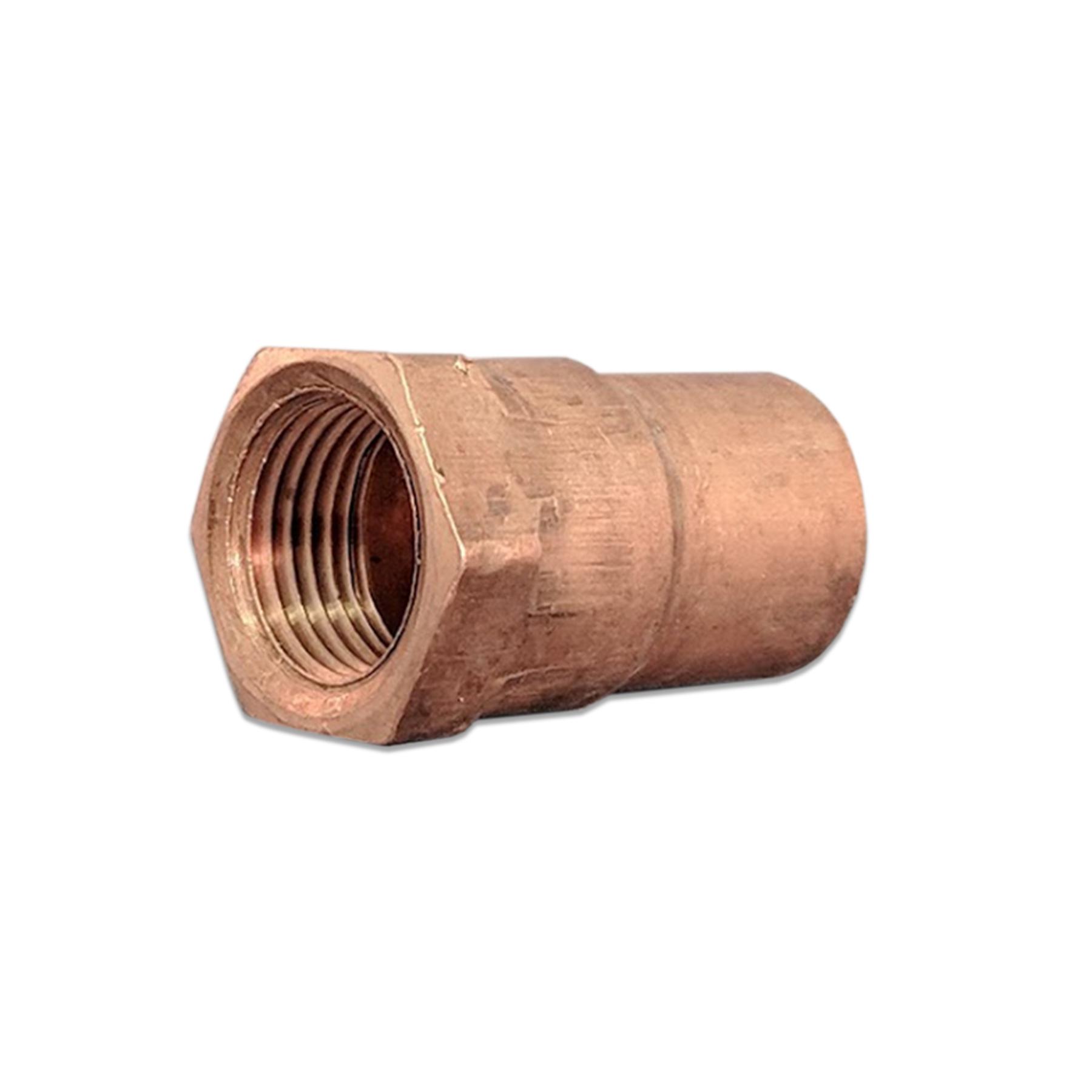Copper Reducer Sweat Fitting, 1/2 (F) x 3/8 (F) NPT