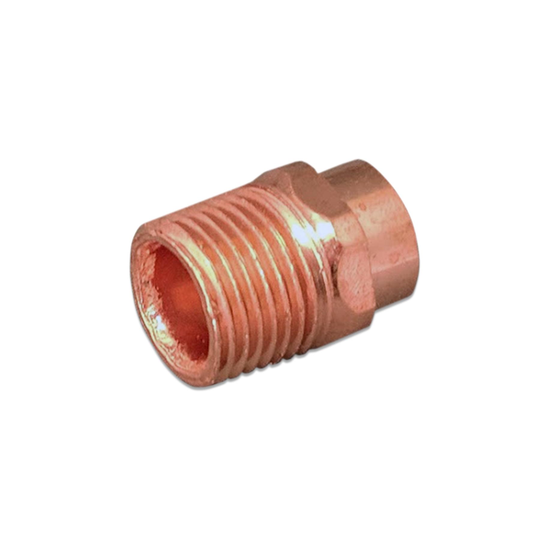 Copper Adapter Fitting, 1/2 (F) Sweat x 1/2 (M) NPT