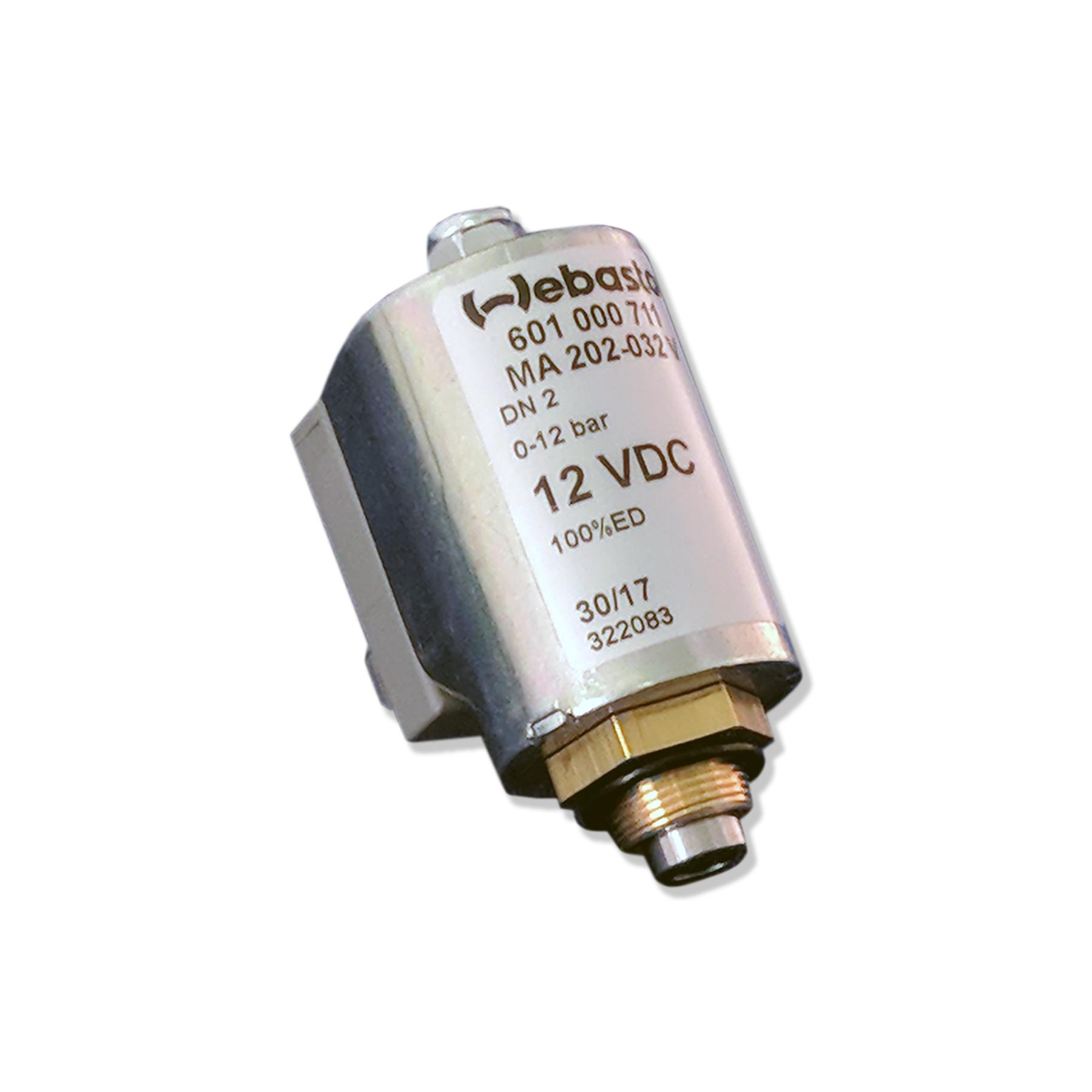 Webasto 12 VDC Fuel Solenoid Valve