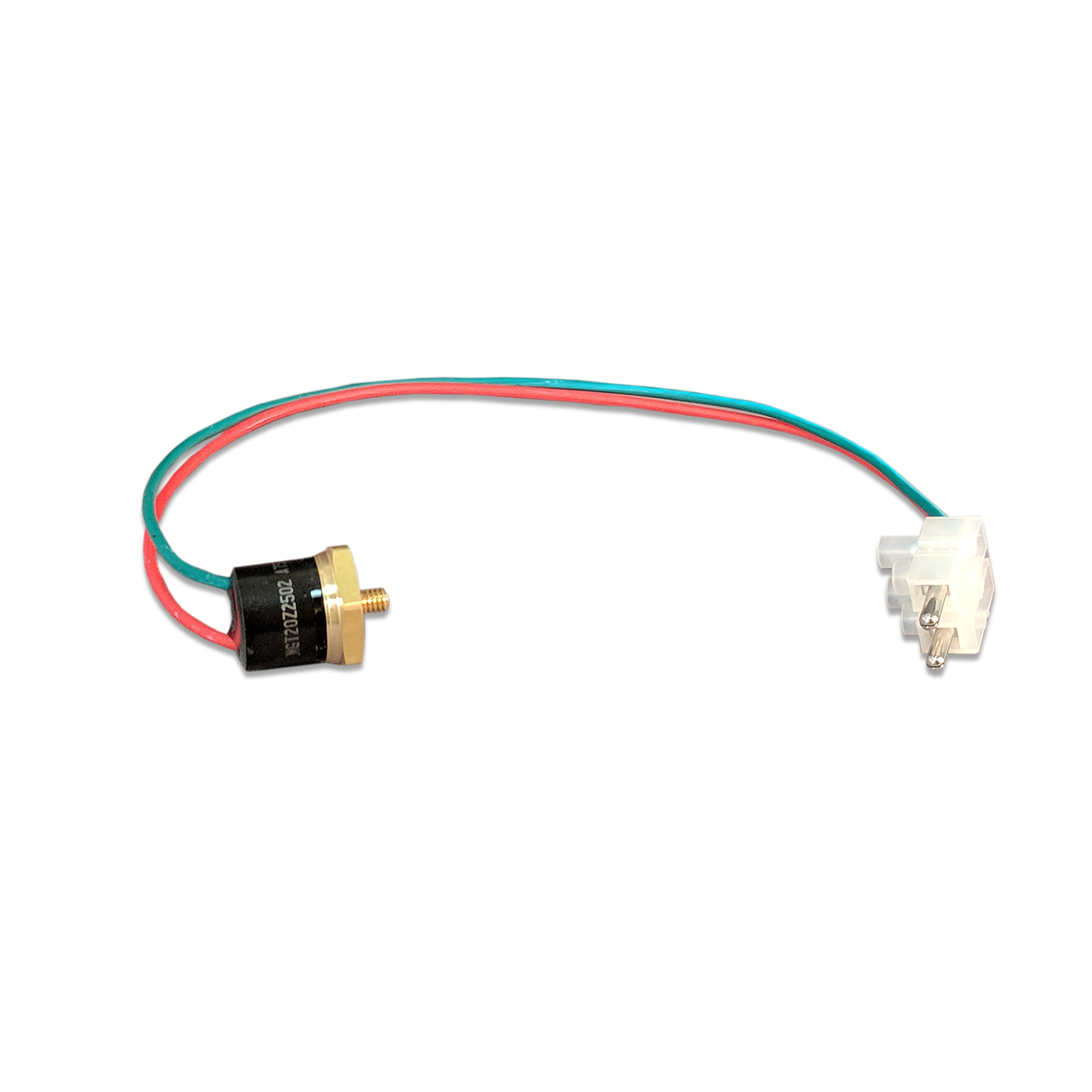 167 Degree F Control Thermostat w/Green & Red Wires