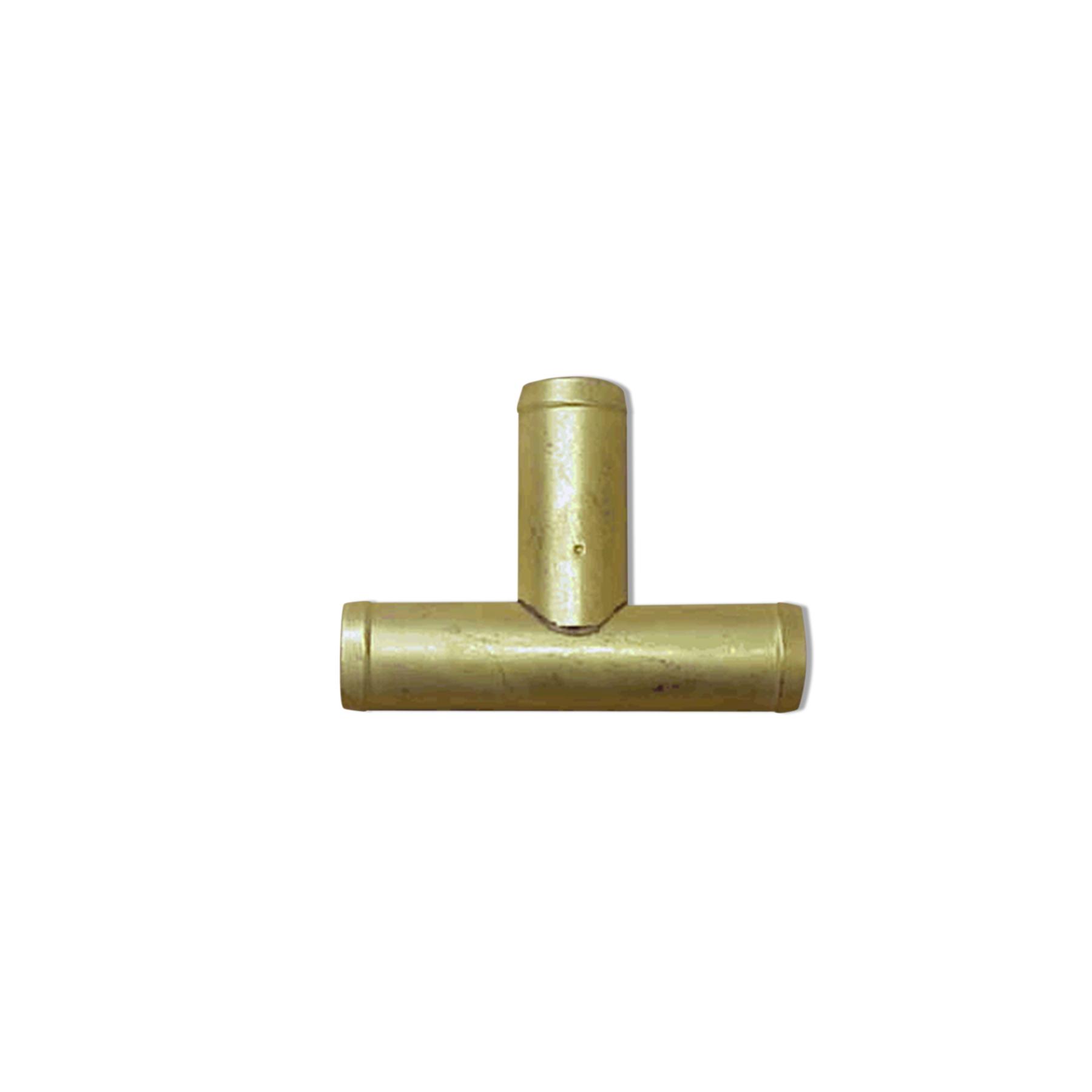 Brass Tee Fitting, O.D. 18 mm x 18 mm x 18 mm