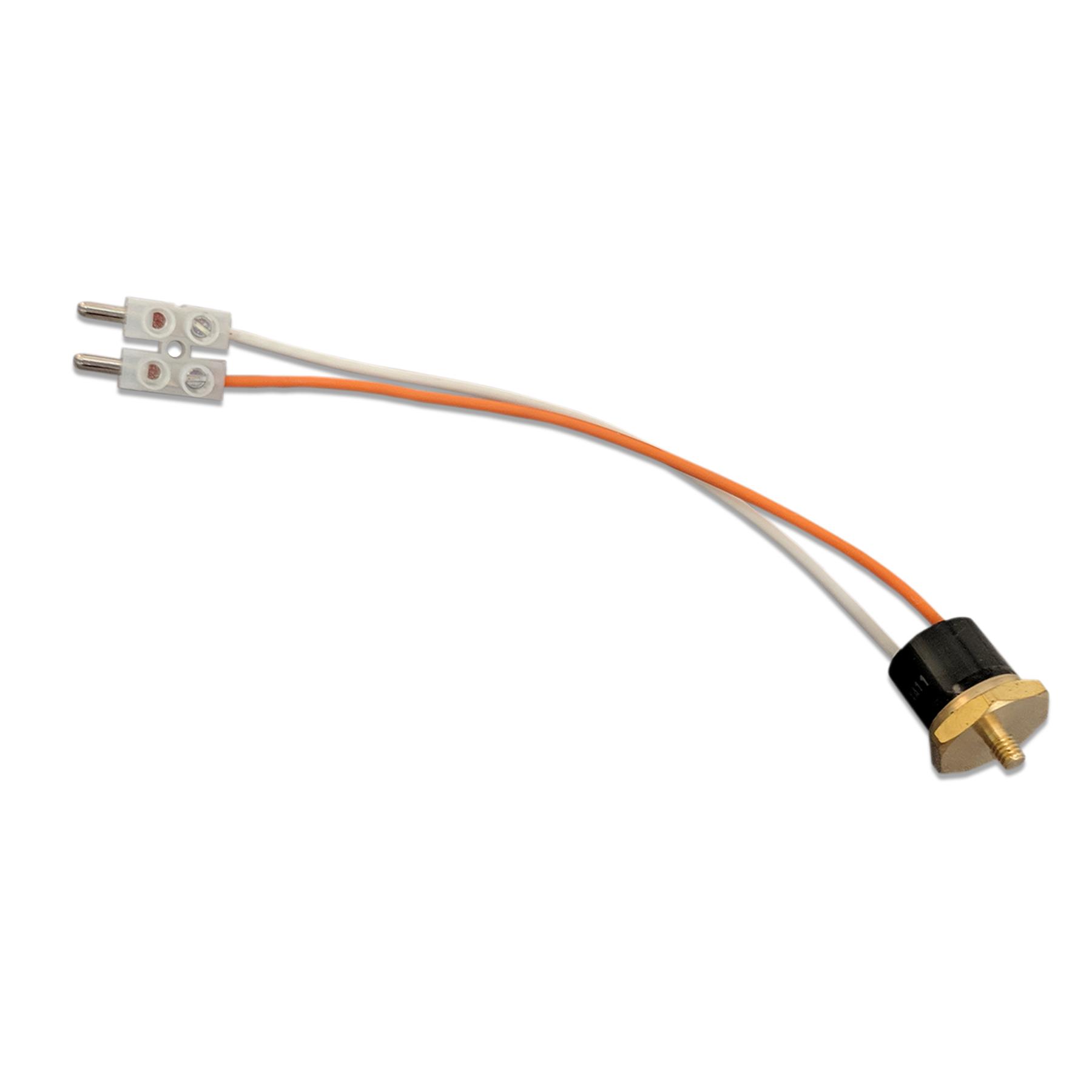 158 Degree F Control Thermostat w/Orange & White Wires