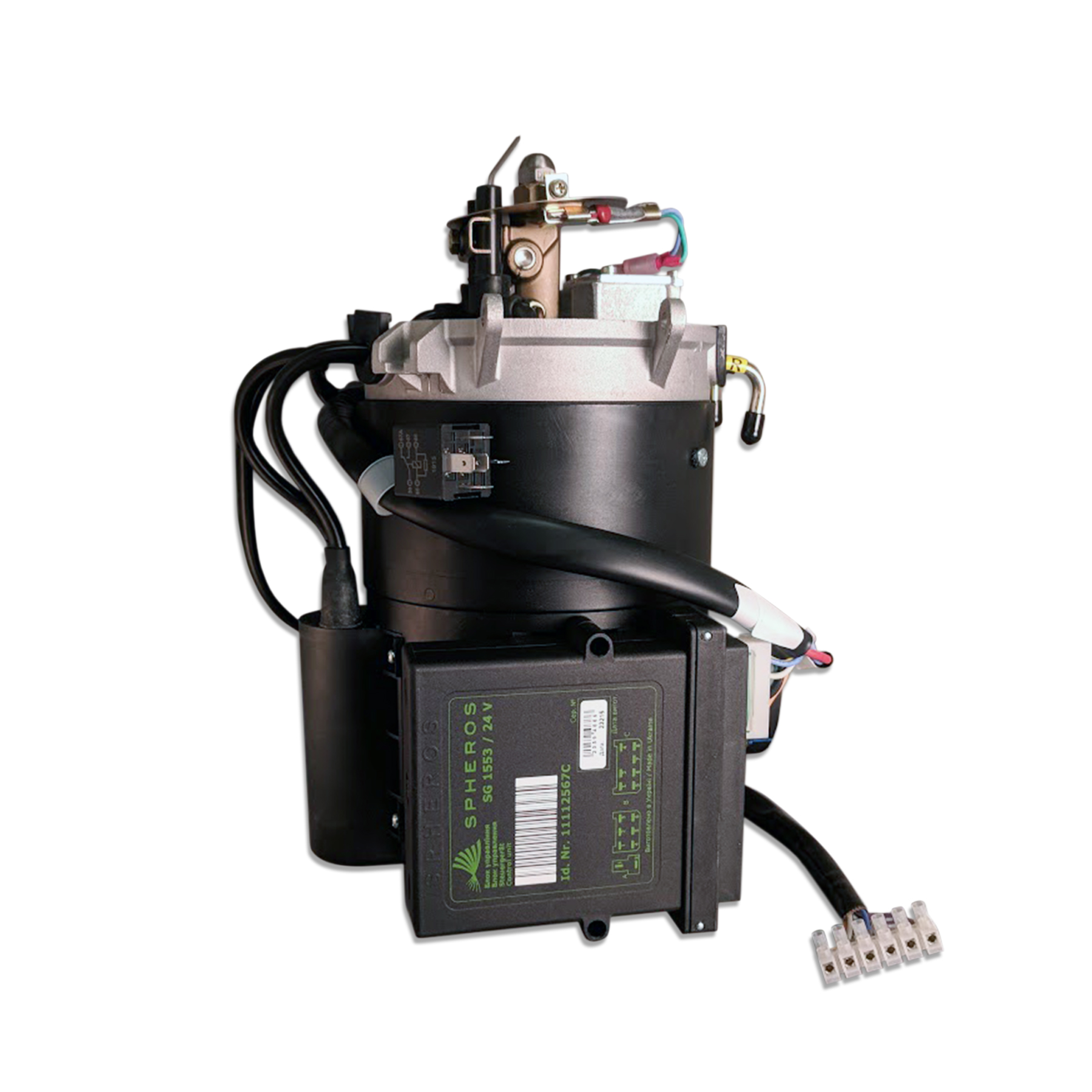 24 VDC Unmodified Diesel Burner, DBW-2010